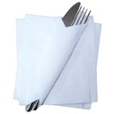 1 ply 30cm White Napkins - SPD314-CL