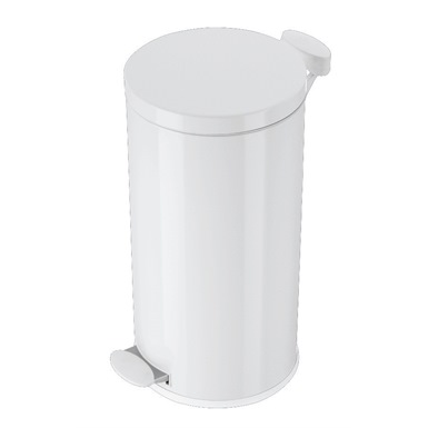 20 Litre Pedal Oprated White Bin