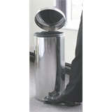 30 Litre Pedal Oporated Bin, Stainless Steel Mirror Finish - PED-030MSS