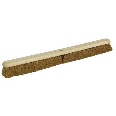 "36"" Natural Coco Platform Broom Head"