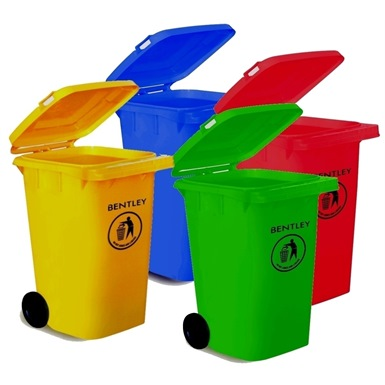 Bentley 240 litre Coloured Wheelie Bins