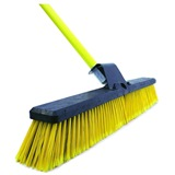 "Bentley Bulldozer Yard Broom 24"" (New & Improved) - HQ16Y"