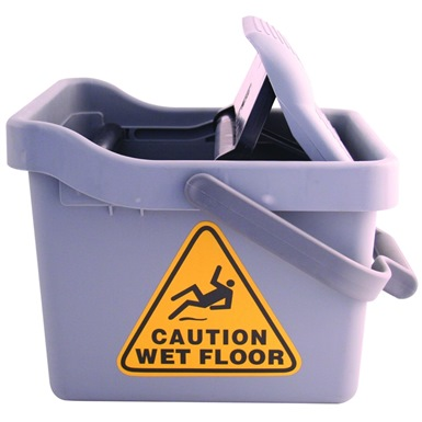 Bentley Foot Operated Squeegee Mop Bucket (15 litres)