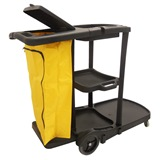 Black Janitors Trolley - AF08180