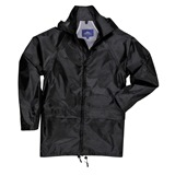 Black Portwest Classic Rain Jacket - S440