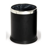 Black Probbax Round Waste Basket 10L - WB-1051