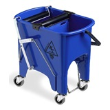 Blue Foot Operated Squizzy Mop Bucket, 15 litre - 6415