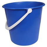 Blue Plastic Bucket, 9 Litre - 755