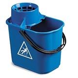 Blue Plastic Mop Bucket, 12 Litre - 5040
