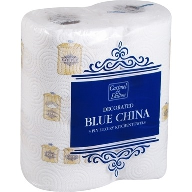 Cartmel & Dalton Blue China Kitchen Towel