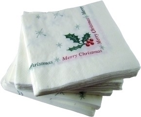 Christmas Napkins (40cm 2 Ply)