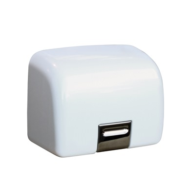 Classic Electric Hand Dryer, Steel Cover