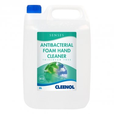 Cleenol 074197 Senses Antibacterial Foam Hand Cleaner - 2x5 Litres