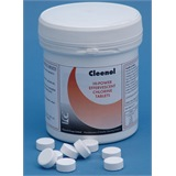 Cleenol Hi-Power Effervescent Chlorine Tablets (X200) - 0625CHL/6