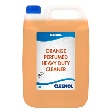 Cleenol Orange Heavy Duty Cleaner 2x5L