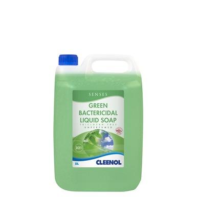 Cleenol Senses Green Bactericidal Liquid Soap 2x5L