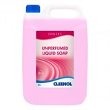 Cleenol Senses Unperfumed Liquid Soap 2x5L - 072732X5