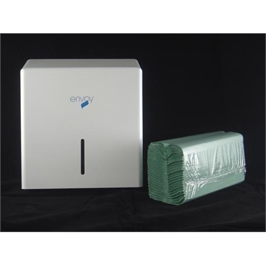 Enigma C Fold Hand Towel Dispenser (Metal)