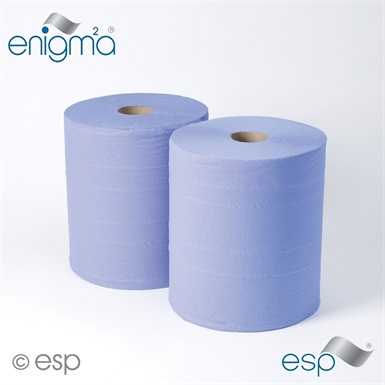 ESP Blue Maxi Industrial Wiper Roll