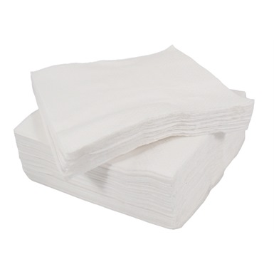 ESP Catering 2 Ply White Table Napkins (Box 2000)