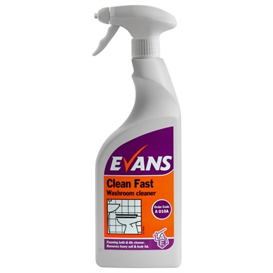Evans Clean Fast Washroom Cleaner-750ml