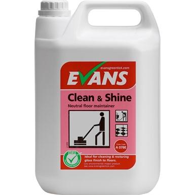 Evans Clean & Shine Perfumed Floor Maintainer