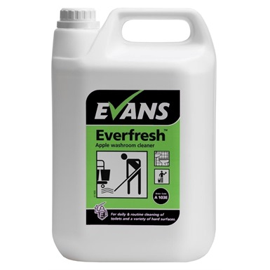 Evans Everfresh Apple Washroom Cleaner