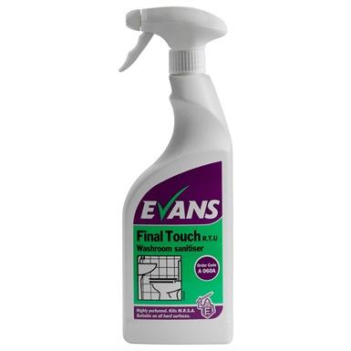 Evans Final Touch RTU 750ml Washroom Sanitiser