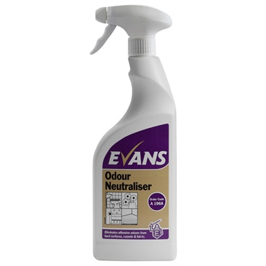 Evans Odour Neutraliser 750ml Trigger Spray