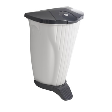 Foot Operated Wall Mounted Bin