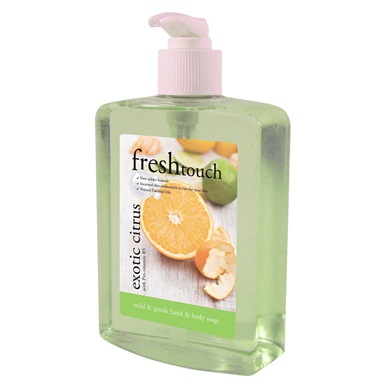Fresh Touch Exotic Citrus Hand/Body Wash Soap 500ml