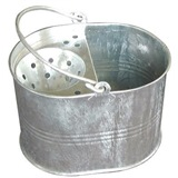 Galvanised Mop Bucket 12 Litre - MB.03