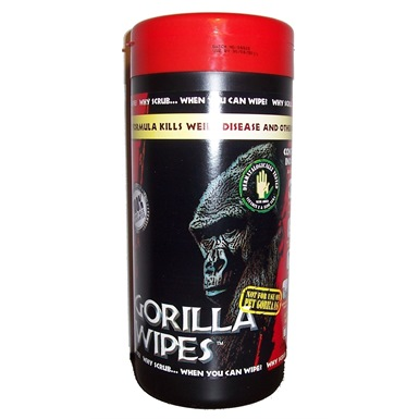 Gorilla Wipes (80 wipes)