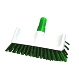 Green High Low Deck Scrub Brush - NHB18
