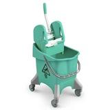 Green Kentucky Mop Bucket, 30 litre - 6475