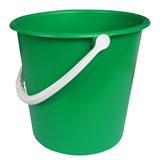 Green Plastic Bucket, 9 Litre - 755
