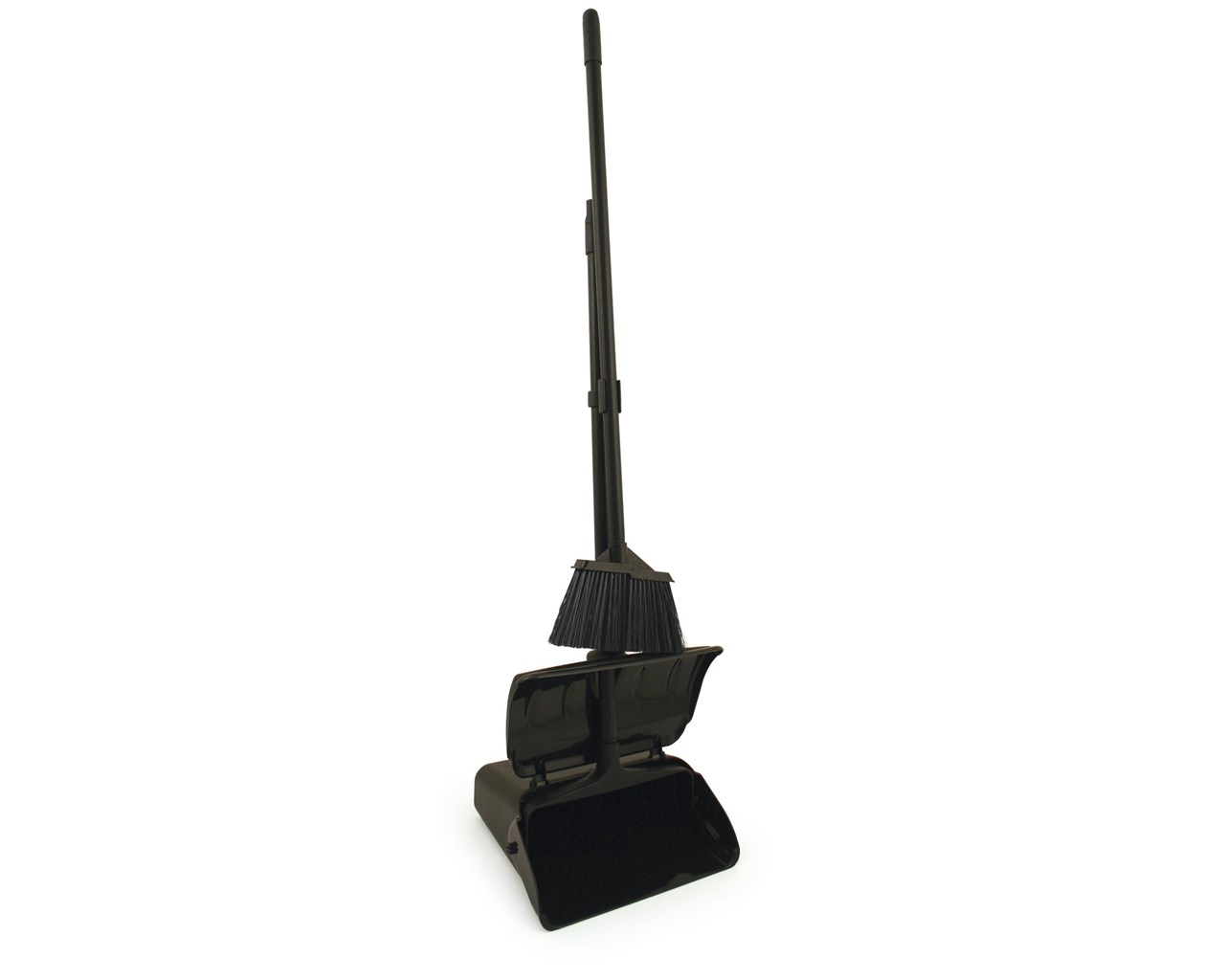 Heavy Duty Lobby Dustpan And Broom Set Vz Hdlpb Set
