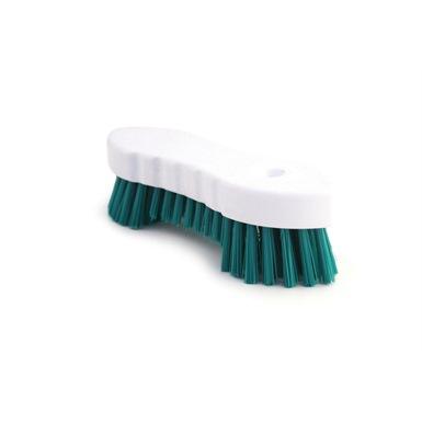 Heavy Duty Stiff Pvc Bristle Hygiene Scrubbing Brush
