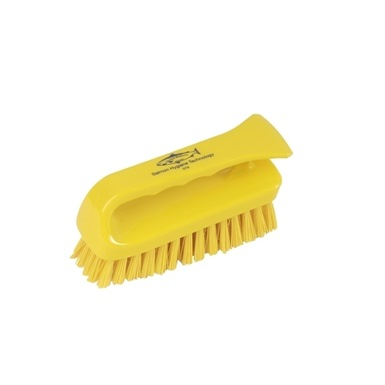 "Hill Brush 6"" Stiff Grippy Scrub Brush"