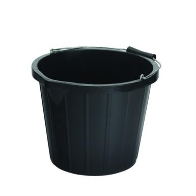 Industrial Black Builders Bucket