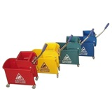 Kentucky Wringer Mop Bucket on Wheels 17 Litre - MC068