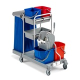 Large Mopping Maintenance Trolley - 2750