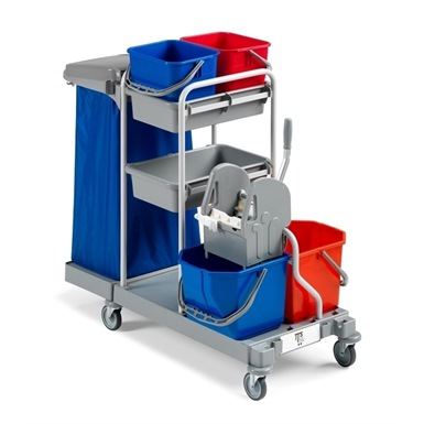 Large Mopping Maintenance Trolley