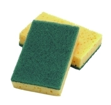 Large Sponge Scourers (Pack of 10)