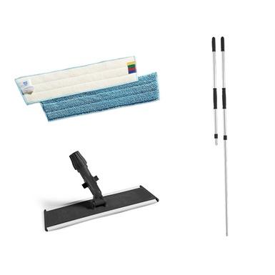 Microfibre Flat Mopping Kit