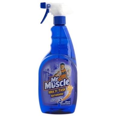 Mr muscle multi task bathroom toilet cleaner s c for Mr muscle bathroom and toilet cleaner