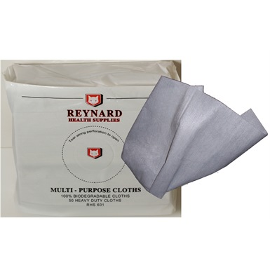 Multi-Purpose Biodegradable Cleaning Cloths