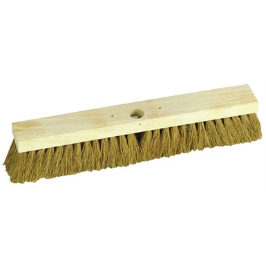 Natural Coco Platform Broom 18""