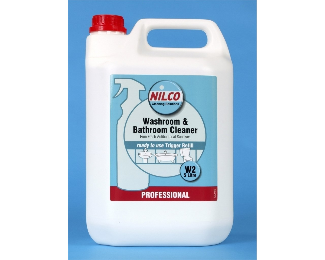 clearance nilco bathroom cleaner 5 litre refill nilco