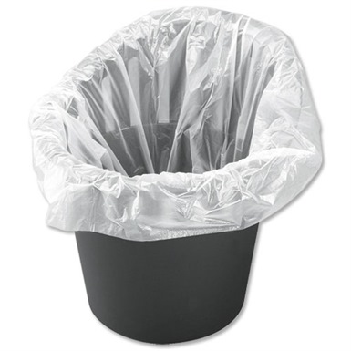 Office Bin Liners White (1000 bags)